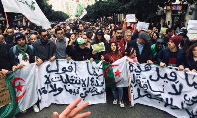 © AS   41 marche des étudiants à Alger le 03/ 12/ 2019
