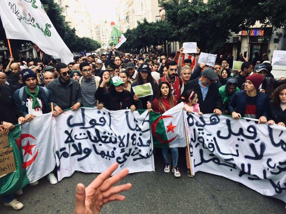 © AS | 41 marche des étudiants à Alger le 03/ 12/ 2019