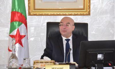 © DR | Le ministre de l'intérieur Salah Eddine Dahmoune