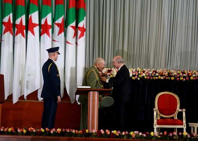 © DR | Le président de la république Abdelmadjid Tebboune et le général Ahmed Gaid Salah