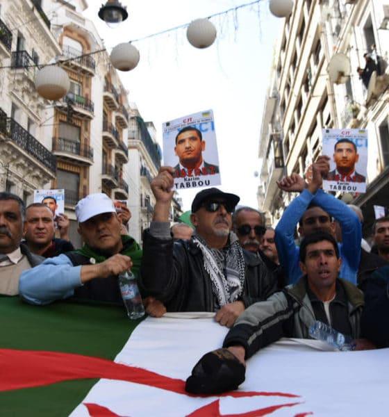 © INTERLIGNES   49e vendredi du Hirak à Alger
