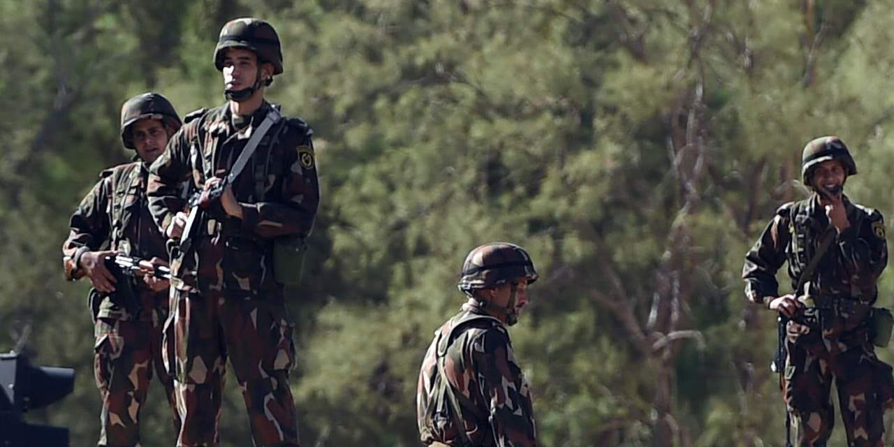 © DR | Soldats de l'armée nationale populaire (ANP)