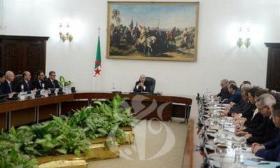 © APS | Le Président Tebboune préside son premier Conseil des ministres