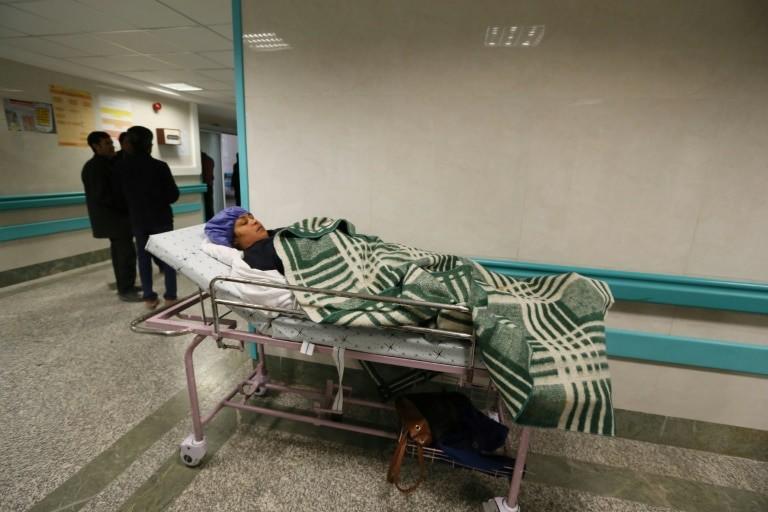 © DR | Une Iranienne blessée après une bousculade lors des funérailles à Kerman, dans le sud-est de l'Iran, le 7 janvier 2020