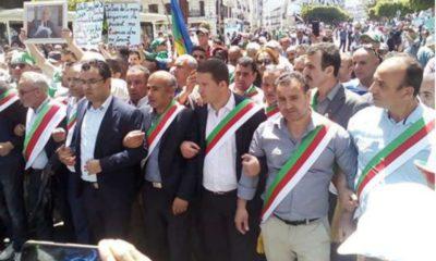 © DR | Marche des maires à Tizi Ouzou ( Photo archives)