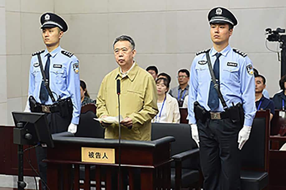 © DR | Meng Hongwei, ex. chef d'Interpol condamné à la prison par la justice chinoise.