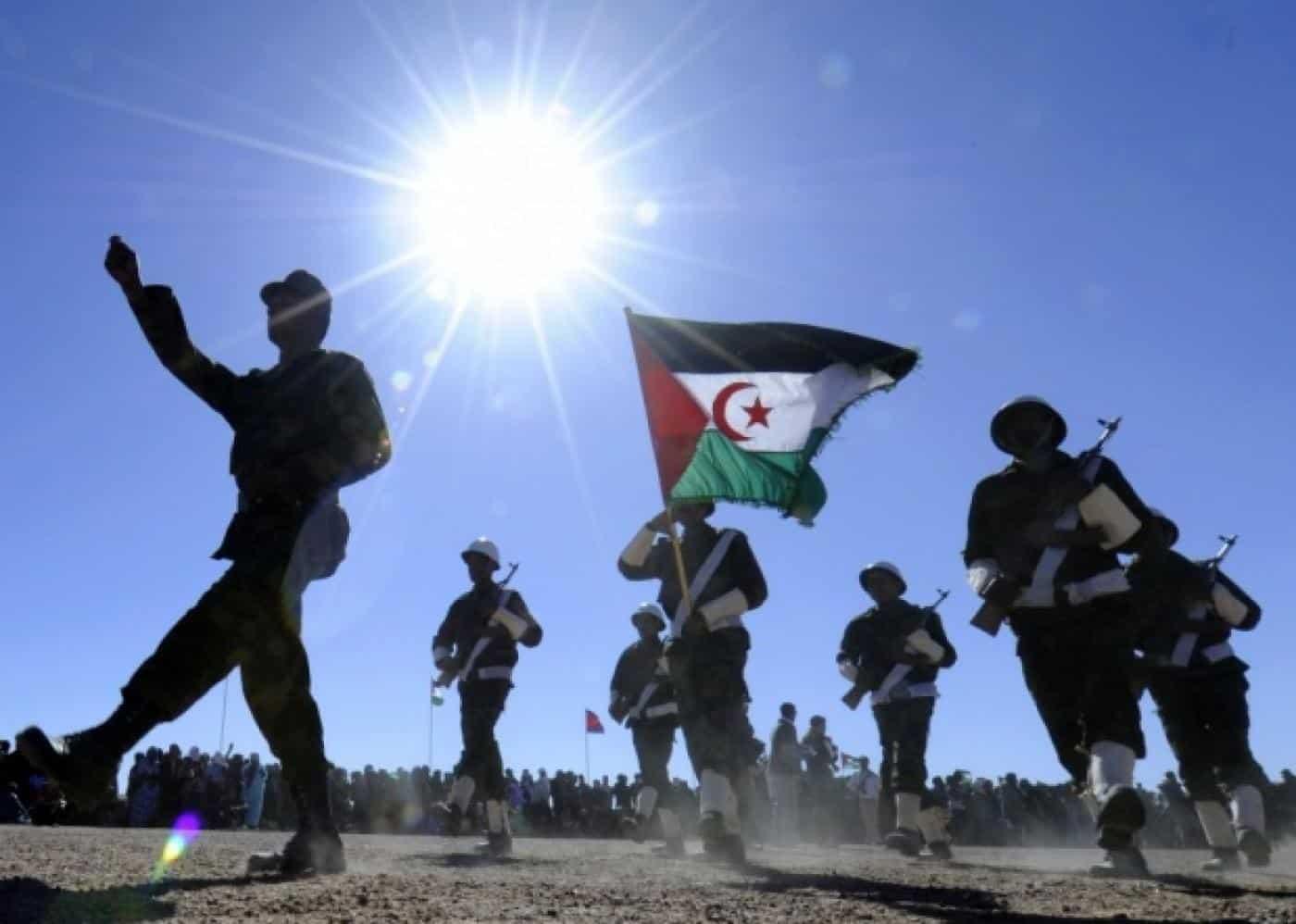 © DR | Défilé de soldats du Front Polisario, en 2011, à l'occasion du 35e anniversaire de la création de la République arabe sahraouie démocratique