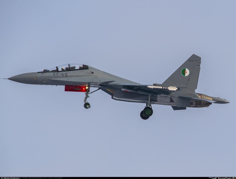 © DR | Un avion de chasse Sukhoi 30 s'écrase à Oum El Bouaghi
