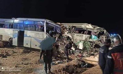© DR | collusion entre deux bus à El oued