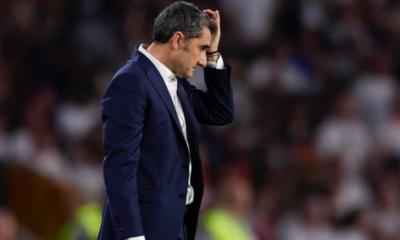 © DR | Ernesto Valverde limogé de la barre technique du club catalan
