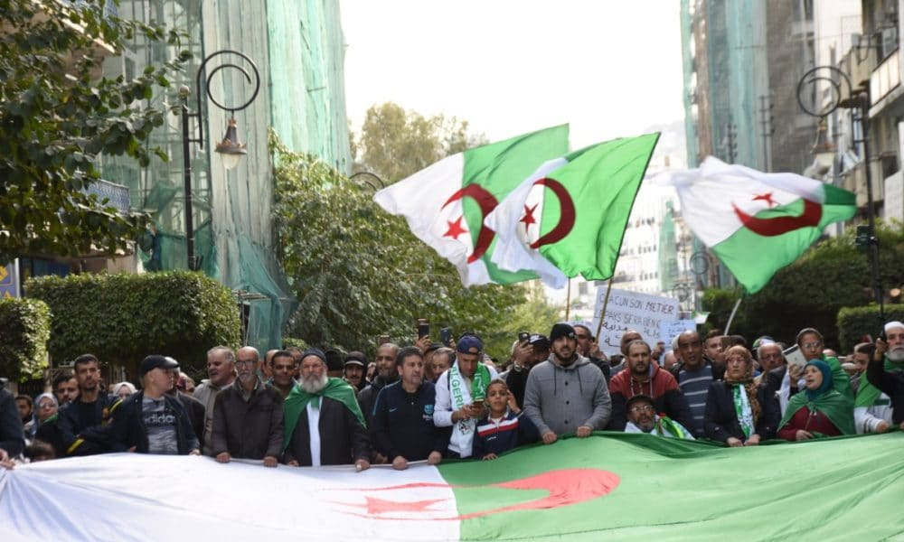© INTERLIGNES | Marche du vendredi 7 février 2020 à Alger.