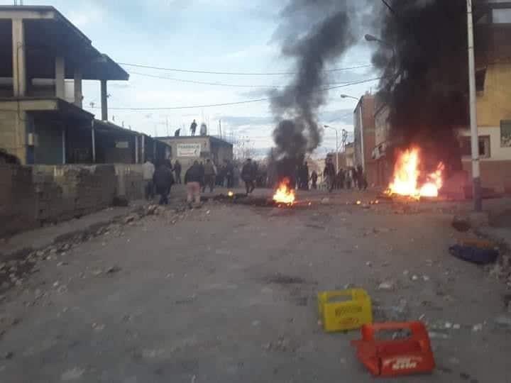 © DR | Violents heurtes entre les citoyens du village Snadla et la gendarmerie