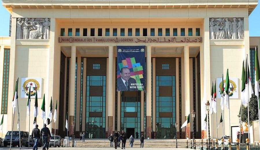 © DR   Siège UGTA à Alger