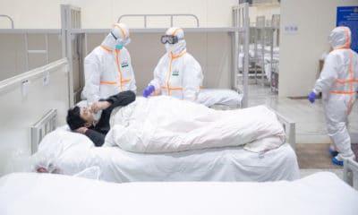 © DR | Patient atteint par le coronavirus