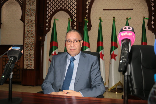 © DR | Le wali de Mascara Abdelkhalek Sayouda atteint du coronavirus