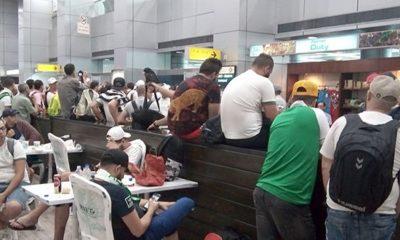 © DR | Des algériens bloqués depuis une semaine à l'aéroport international Istanbul