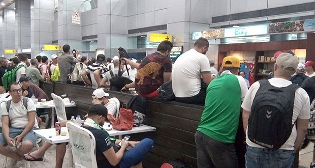 © DR | Des algériens bloqués en Turquie