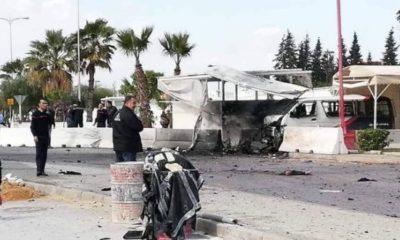 Tunisie, attentat suicide à l'entrée de l'ambassade des USA