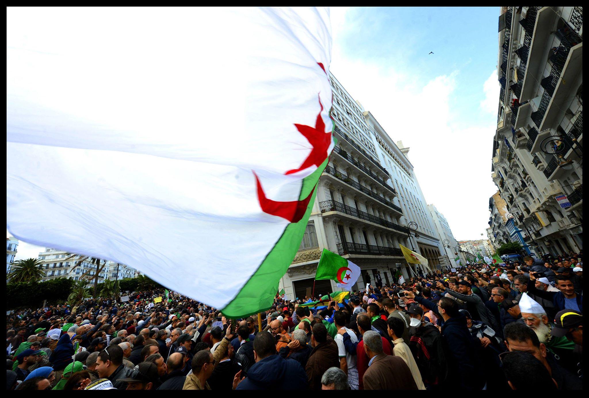 © Sami K | Mobilisation lors du 55e vendredi à Alger