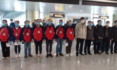 © DE | équipe médicale chinoise arrivée à Alger