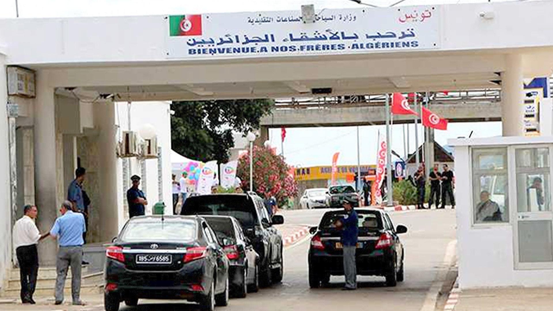 © DR | fermeture des frontières algero-tunisiennes