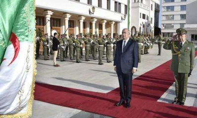 © DR | Le président Abdelmadjid Tebboune en compagnie de feu Ahmed Gaid Salah