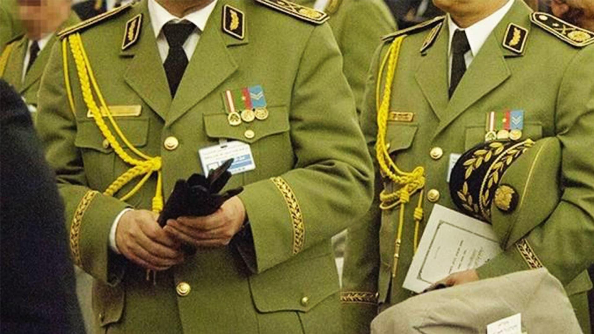 © DR | Les généraux de l'armée algériennes