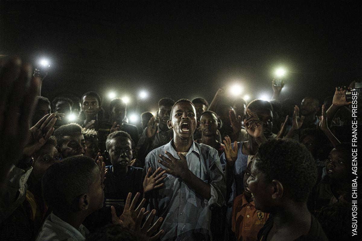 © YASUYOSHI CHIBA / AFP | Le 19 juin 2019 à Khartoum.