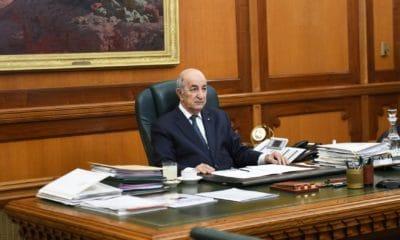 Le Président de la République Abdelmadjid Tebboune