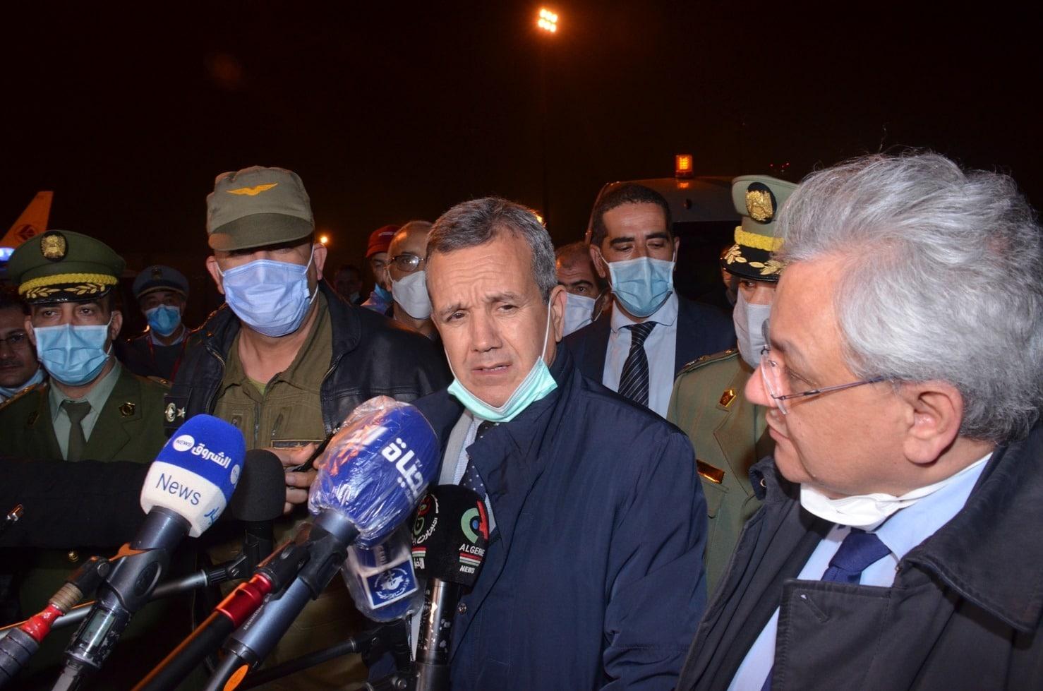 © DR | l'Algérie réceptionne la 3e commande d'équipements médicaux en provenance de Chine