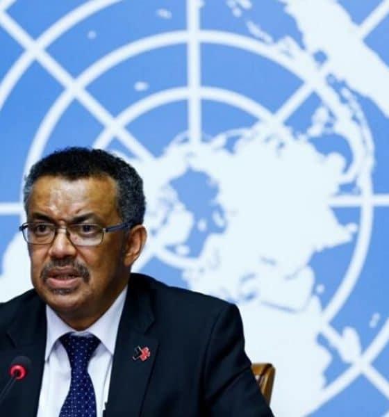 © DR  Le secrétaire général de l'Organisation mondiale de la santé, Tedros Adhanom Ghebreyesus.