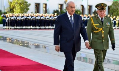 © DR | Le préident de la république Abdelmadjid Tebboune et feu Ahmed Gaid Salah