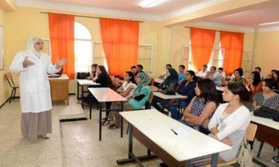 © DR | Classe d'un lycée en Algérie