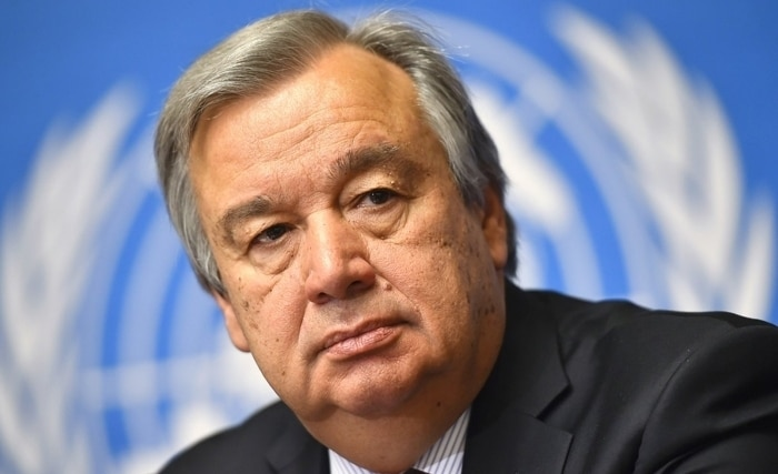 © DR   le Secrétaire général des Nations-Unies, Antonio Guterres