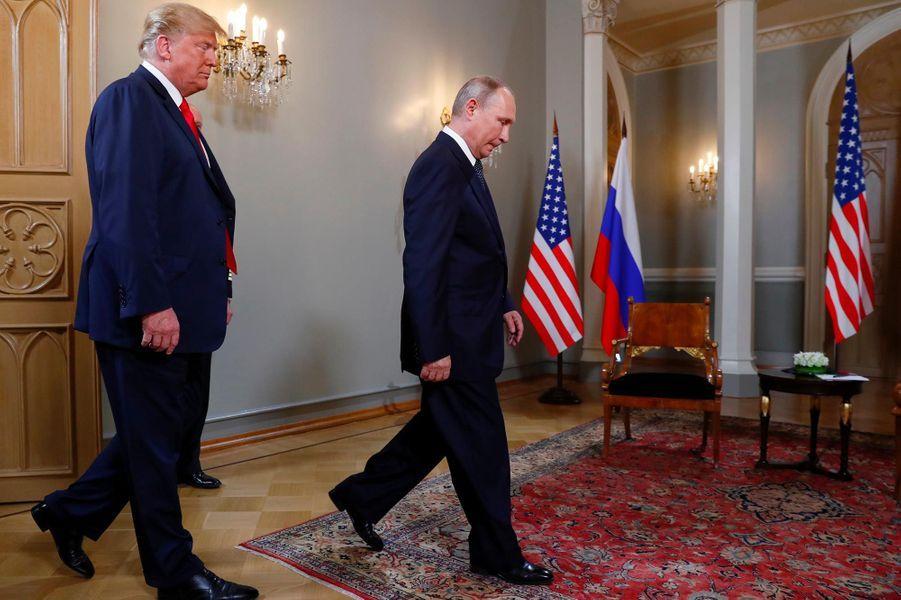 © DR | Donald Trump et Vladimir Poutine