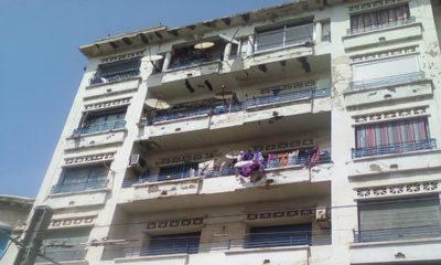 © DR | Effondrement partiel d'un immeuble à Hussein Dey, Alger