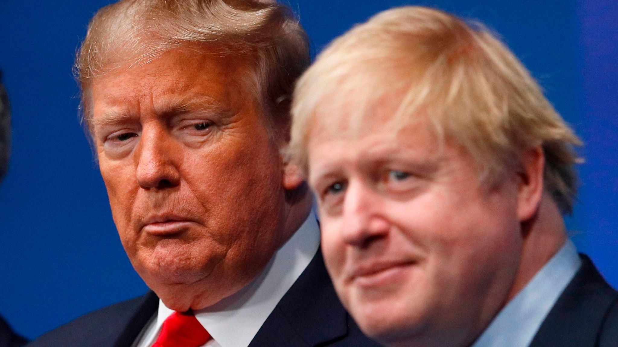 © DR | Le préisdent américain Donald Trump avec le Premier ministre britanique Boris Johnson