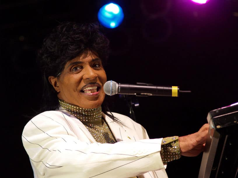 Little Richard, pionnier américain du rock and roll