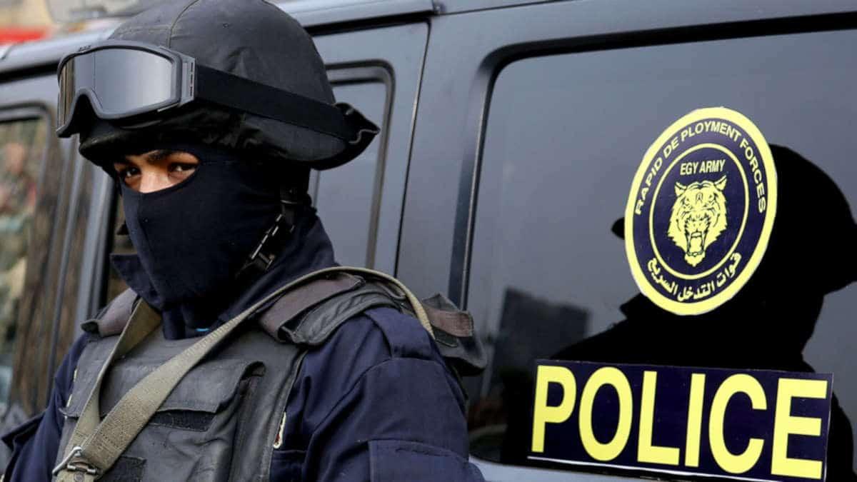 © DR | Dories spéciales de la police égyptienne