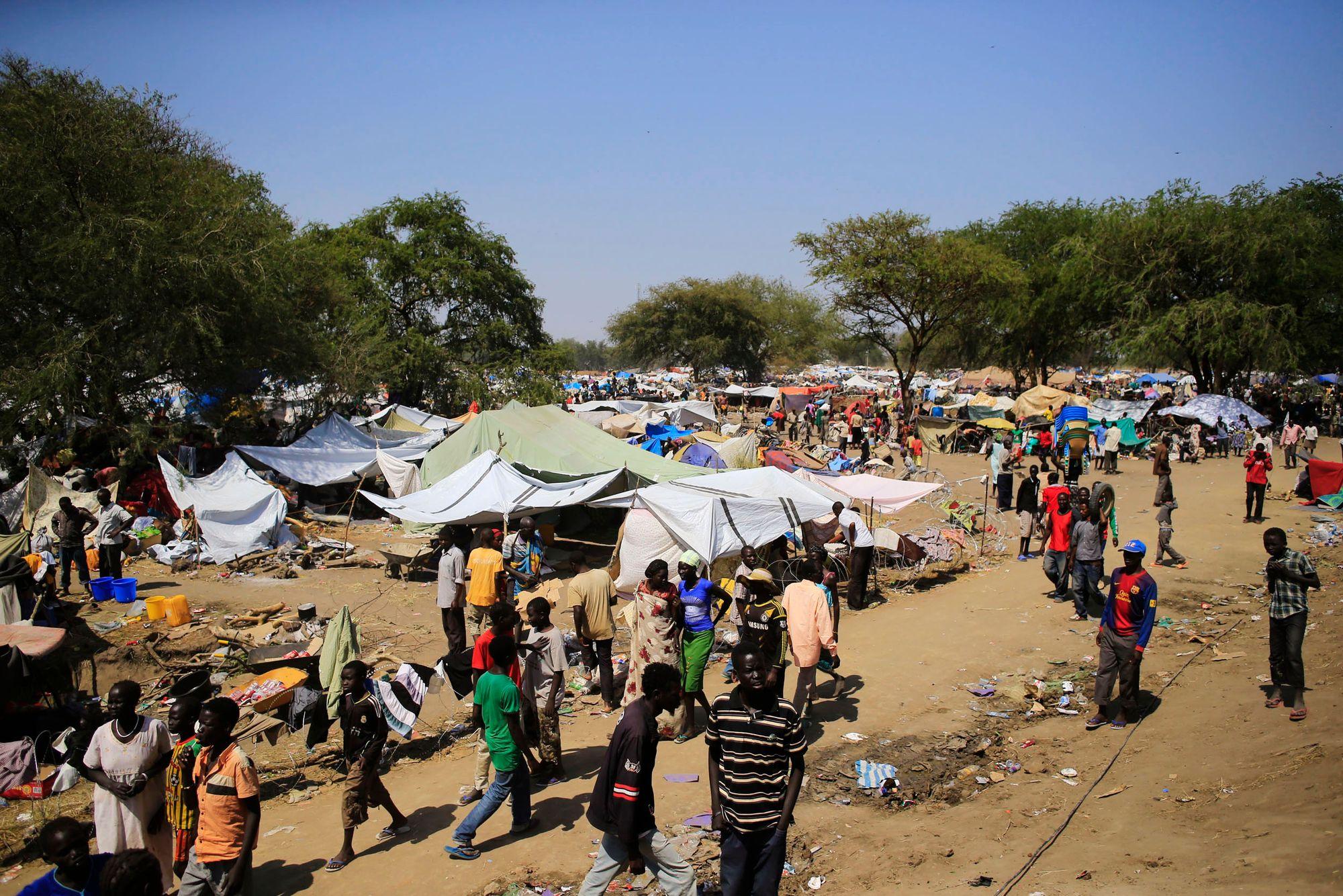© DR | Camps attaqué en 2013 au Soudan ( Photo archive)
