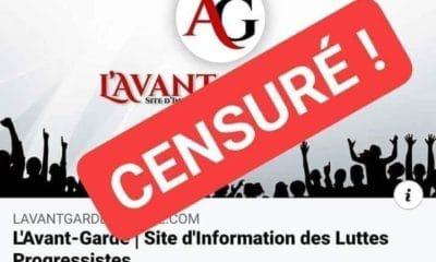 © DR | Le site d'information, l'Avant-Garde Algérie censuré
