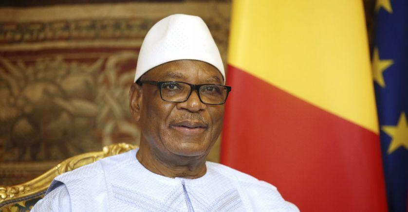 DR | Le président déchu ibrahim-boubacar keita