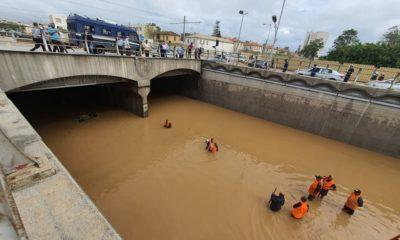 Inondations au tunnel de Ruisseau à Alger