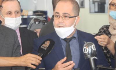© DR   Le ministre de le poste et des télécommunications Brahim Boumzar