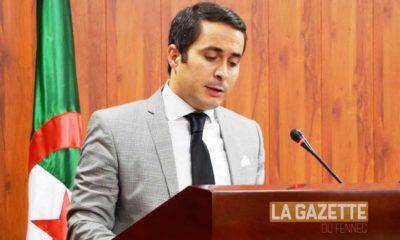Le ministre la Jeunesse et des Sports Sid Ali Khaldi