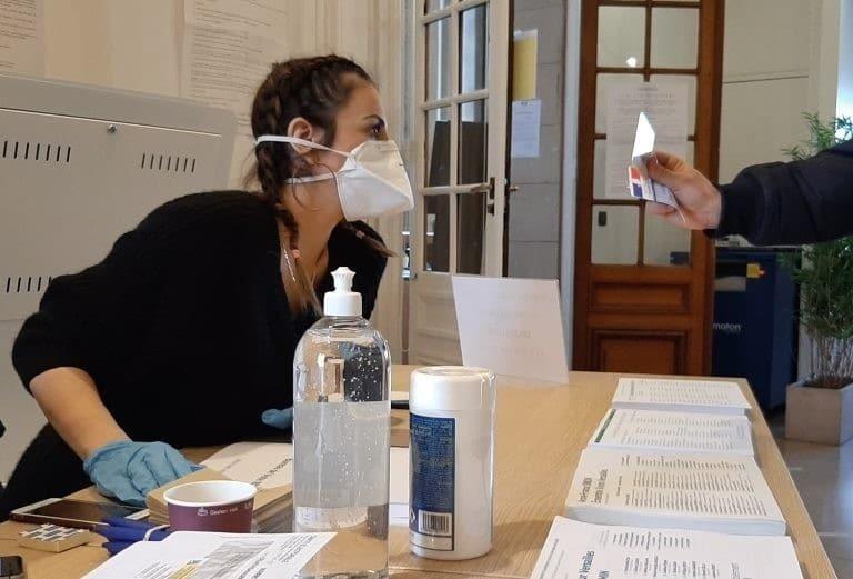 DR | Vote pendant la pandémie du COVID 10