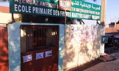 DR | Ècole primaine à Aït Chafâa, Azeffoun, Tizi Ouzou