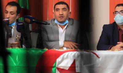 © BZ INTERLIGNES | Conférence de presse du militant Karim Tabbou le 16 Décembre 2020 à Alger