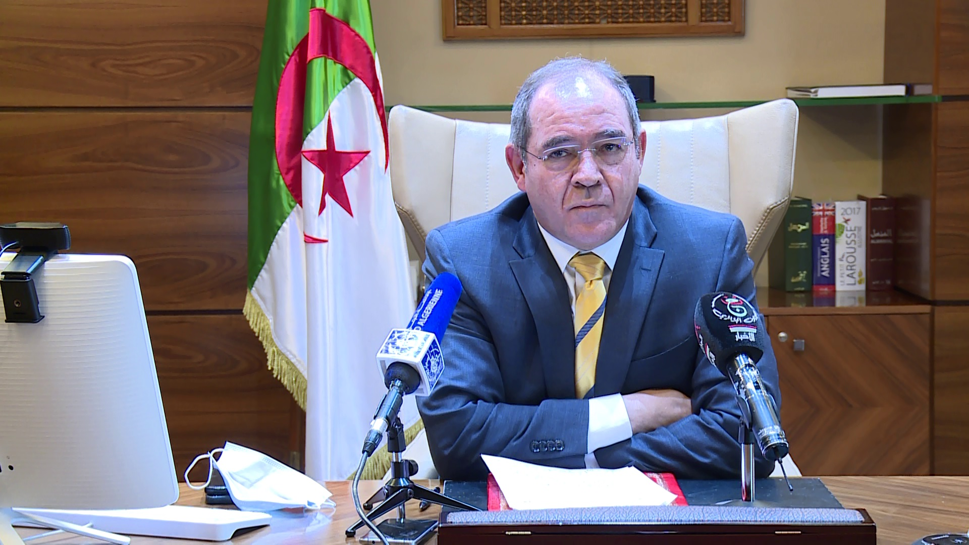 © DR |Le ministre des Affaires Etrangères Sabri Boukadoum