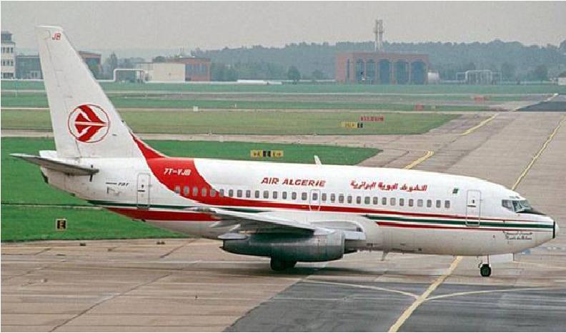 © DR | Avion de la compagnie national de transport, Air Algérie